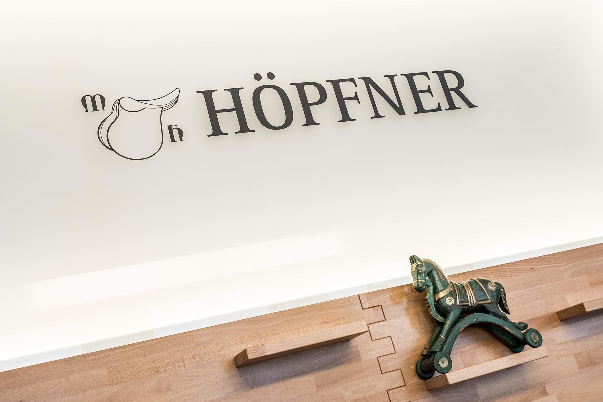 Hoepfner Wandbeschriftung
