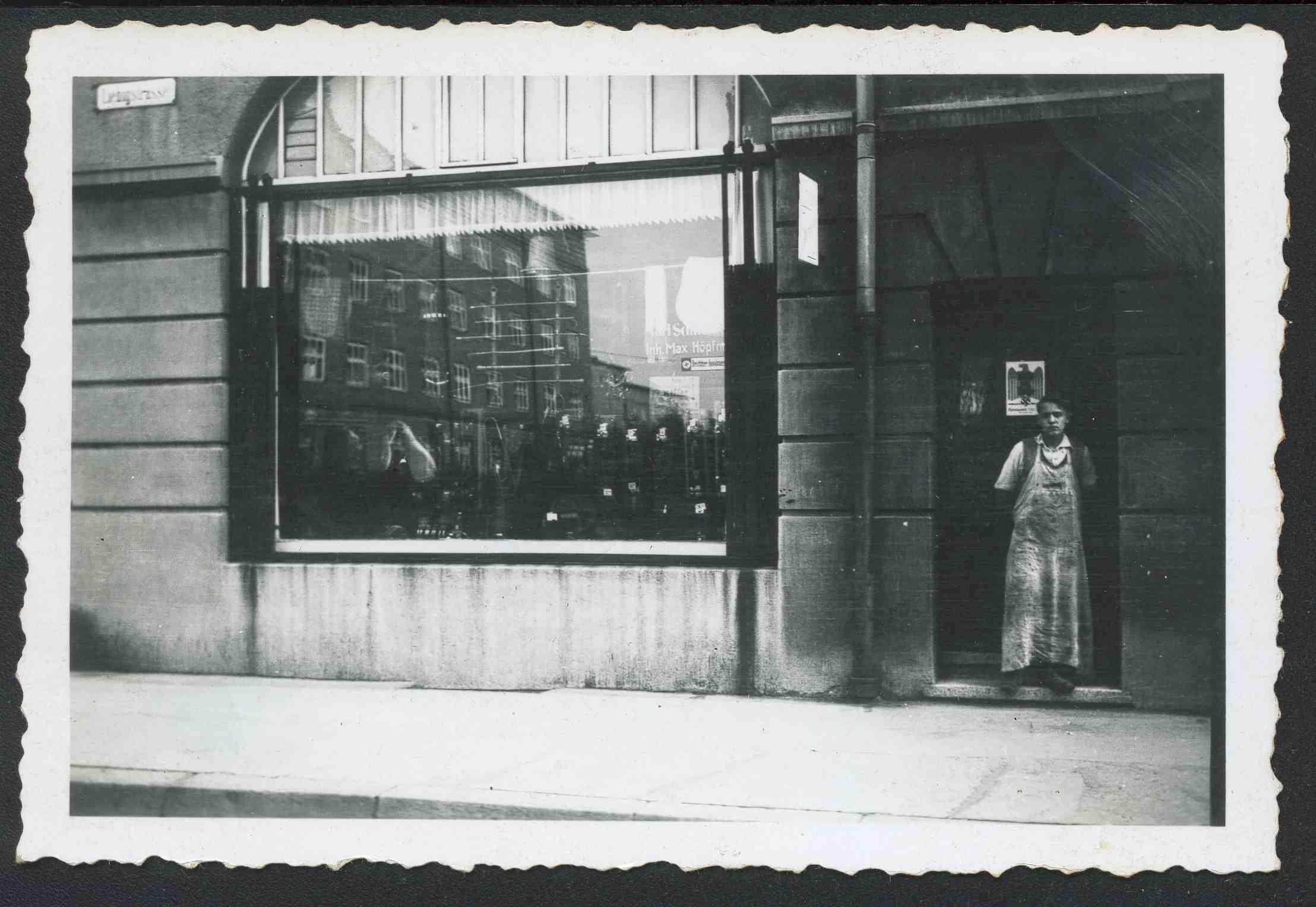 Hoepfner Laden um 1925