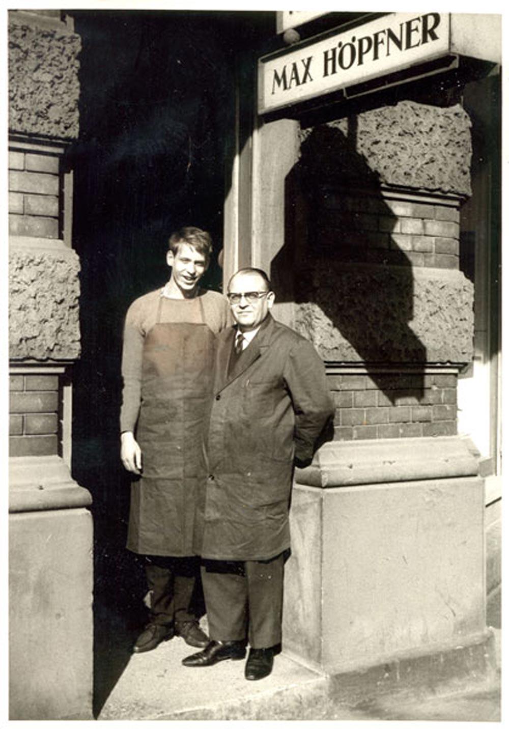 Willy und Wolfgang Hoepfner